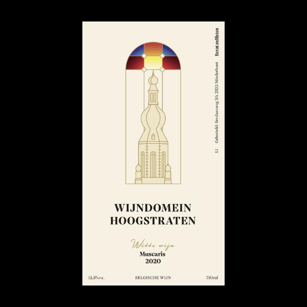 Witte wijn 2020 - Muscaris wijndomein Hoogstraten